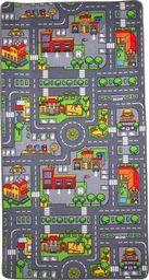 Small Foot Dywan dwustronny wieś, miasto z ulicą do zabaw dla dzieci uniw