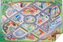 Small Foot Dywan mata do zabawy dla dzieci - Plan miasta, pomoce montessori uniw