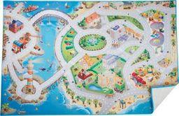 Small Foot Dywan mata do zabawy  dla dzieci - Plan wyspy, pomoce montessori uniw