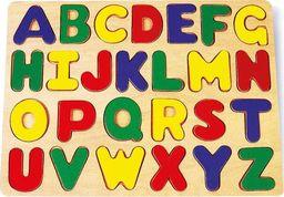 Small Foot Drewniana układanka - Alfabet, nauka literek dla dzieci uniw