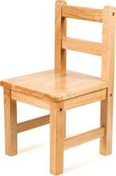 BigJigs Krzesełko drewniane dla dzieci - Natural uniw