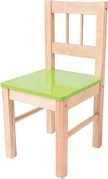 BigJigs  Drewniane krzesełko dla dzieci (Zielone) uniw