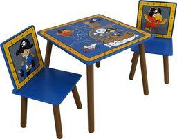 Kidsaw Kidsaw stół i dwa krzesła dla dzieci - seria Piraci uniw