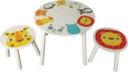 Kidsaw Kidsaw Komplet Stolik i 2 krzesełka z serii Safari uniw