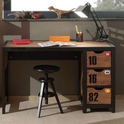 Vipack Drewniane biurko dla dzieci  Alex - sosnowe uniw