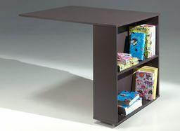 Vipack Drewniane biurko do wysokiego łóżka Pino - sosna ciemnoszara uniw