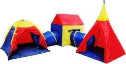 Bemag Namiot do zabawy dla dzieci 3 komorowy