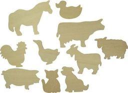 BigJigs Farma ze Zwierzętami - Szablony dla dzieci uniw