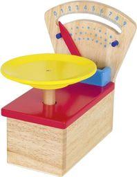 Goki Drewniana waga do zabawy dla dzieci uniw