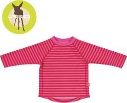 Lassig Lassig - Koszulka do pływania z długim rękawem Pink stripes , UV 50+ uniw