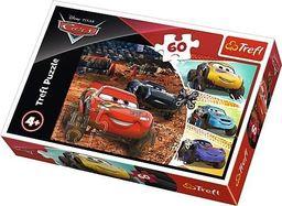 Trefl Puzzle 60 Zygzak McQueen z przyjaciółmi