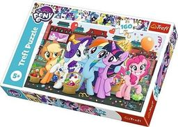 Trefl Puzzle 160 Kucyki na zakupach My Little Pony