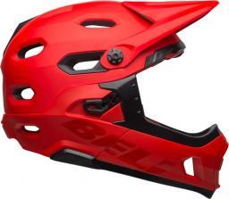BELL Kask Super DH Mips Spherical Matte Gloss Crimson Black r. M (55-59 cm) (BEL-7101449)