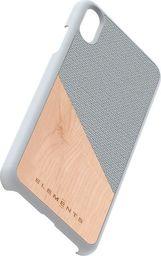 Nordic Elements Nordic Elements Original Hel - Etui Iphone Xs Max Z Prawdziwym Drewnem Klonowym (light Grey)