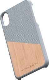 Nordic Elements Nordic Elements Original Hel - Etui Iphone Xs / X Z Prawdziwym Drewnem Klonowym (light Grey)