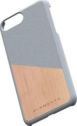 Nordic Elements Nordic Elements Original Hel - Etui Iphone 8 Plus / 7 Plus / 6s Plus / 6 Plus Z Prawdziwym Drewnem Klonowym (light Grey)