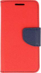 Etui portfel Fancy HUAWEI P30 PRO czerwono- granatowe uniwersalny