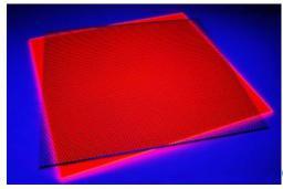 Usorteret Szkło akrylowe GS przezroczyste, czerwone fluorescencyjne 400x400mm (5380994)