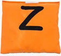 Woreczek gimnastyczny szkolny z literą Z pomarańcz uniw