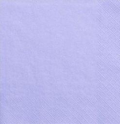 Party Deco Serwetki papierowe, liliowe, 33x33 cm., 20 szt. uniwersalny