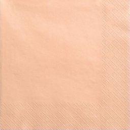 Party Deco Serwetki papierowe, łososiowe, 33x33 cm., 20 szt. uniwersalny