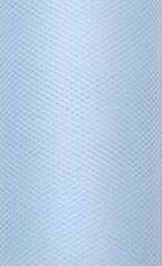 Party Deco Tiul dekoracyjny gładki, błękitny, 0,08x20 m. uniwersalny