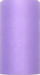 Party Deco Tiul dekoracyjny gładki, fioletowy, 0,08x20 m. uniwersalny