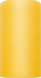 Party Deco Tiul dekoracyjny gładki, żółty, 0,08x20 m. uniwersalny
