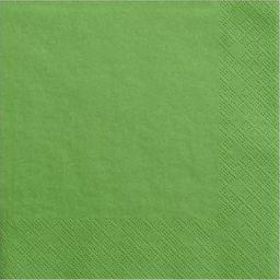 Party Deco Serwetki papierowe, świeża zieleń, 33x33 cm., 20 szt. uniwersalny