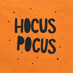 Party Deco Serwetki papierowe Halloween - Hocus Pocus, 20szt. uniwersalny