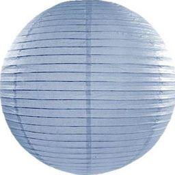 Party Deco Lampion papierowy, jasnoniebieski, 35cm uniwersalny