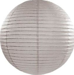 Party Deco Lampion papierowy, pudrowy szary, 35cm uniwersalny