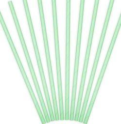 Party Deco Słomki papierowe do picia, ciemnomiętowe, 19,5 cm, 10 szt. uniwersalny