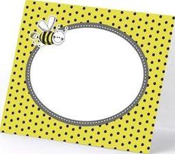 Party Deco Wizytówki na stół, pszczółki, mix, 8x6,5 cm, 6 szt. uniwersalny