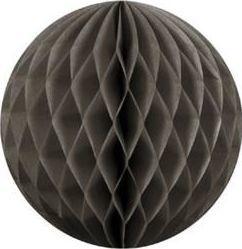 Party Deco Kula bibułowa, ciemny beż 10 cm. uniwersalny