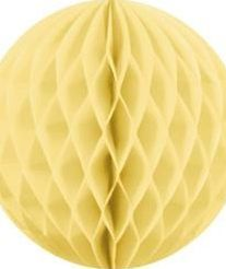 Party Deco Kula bibułowa, słomkowa, 10 cm. uniwersalny
