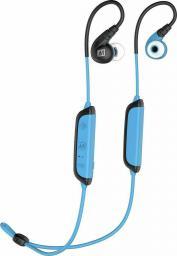 Słuchawki MEE audio MEE Audio X8 (X 8) Słuchawki dokanałowe (sportowe) bezprzewodowe Bluetooth z regulacją głośności i sterowaniem - Niebieski