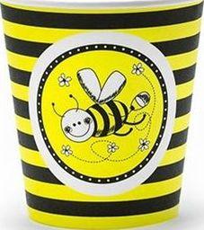 Party Deco Kubeczki jednorazowe Pszczółka, 180ml, 6 szt. uniwersalny