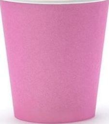 Party Deco Kubeczki jednorazowe, różowe, 180 ml, 6 szt. uniwersalny