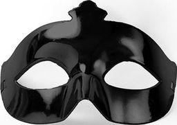 Party Deco Maska imprezowa, karnawał, czarna uniwersalny
