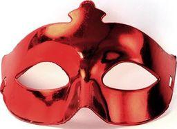 Party Deco Maska imprezowa, karnawał, czerwona uniwersalny