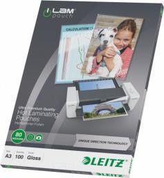 Leitz Folia laminacyjna UDT A3 80mic (74850000) 100szt