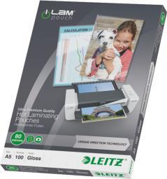 Leitz Folia laminacyjna UDT A5 80 mic. (74920000)