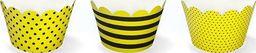 Party Deco Papilotki na muffinki, Pszczółki, mix, 5x 7,5x5cm, 6 szt. uniwersalny