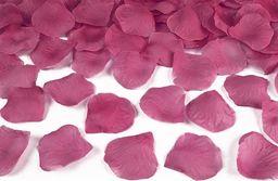 Party Deco Płatki róż, fioletowe, 100 szt. uniwersalny