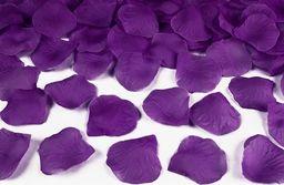 Party Deco Płatki róż, ciemnośliwkowe, 100 szt. uniwersalny