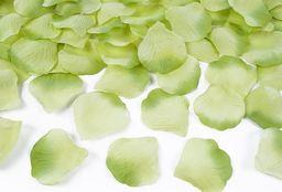 Party Deco Płatki róż, zielone, 100 szt. uniwersalny