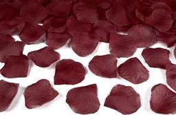 Party Deco Płatki róż, bordo, 100 szt. uniwersalny