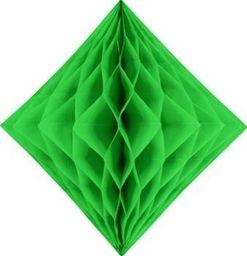 Diament bibułowy, jasna zieleń, 20cm uniwersalny