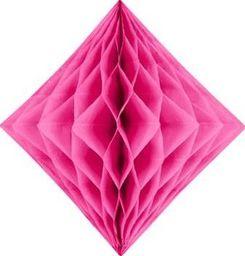 Diament bibułowy, ciemny różowy, 20cm uniwersalny